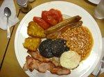 みにょが食べたのは典型的なイギリスの朝食