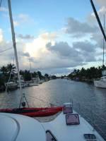 フロリダの運河