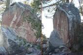 クライミングできそな岩・発見