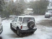 雪に覆われたGeo