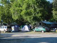 Tent village - back
